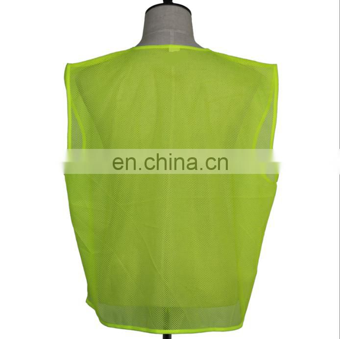 60g Cheap safey vest for promotion/election/sports/Premiums
