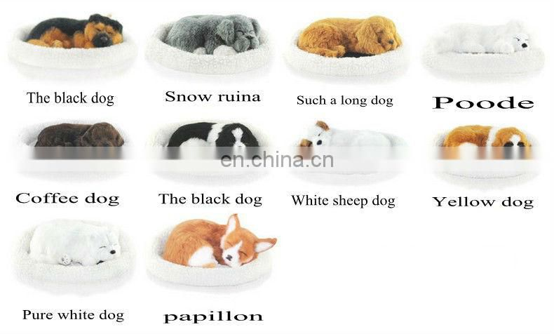 2014 Top New Fashion simulation animal breathing cat shaking tail cat