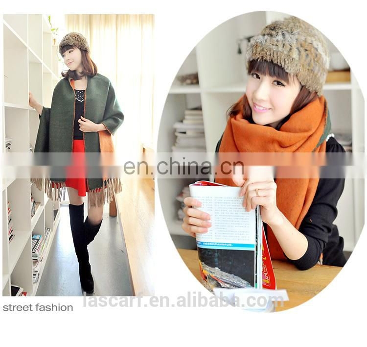 Fashion Long Customize Design Big Size Cheap Price two sides stole(MO8--1)