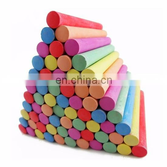 Licheng LCK007 Blackboard Chalk, Colored Dustless Sidewalk Chalk