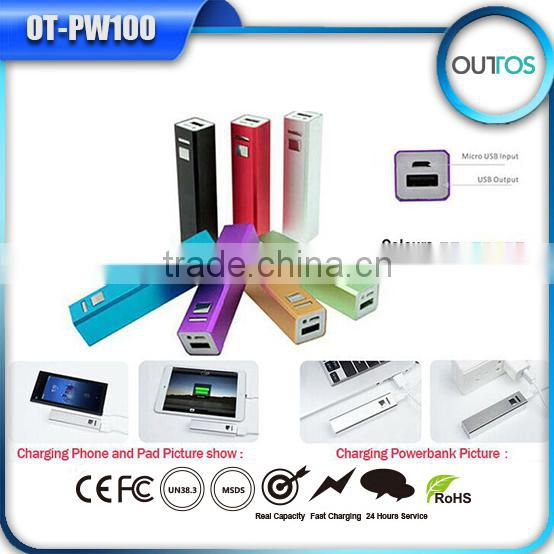 Rechargeable Power Bank Factory 2200mah for Samsung Galaxy
