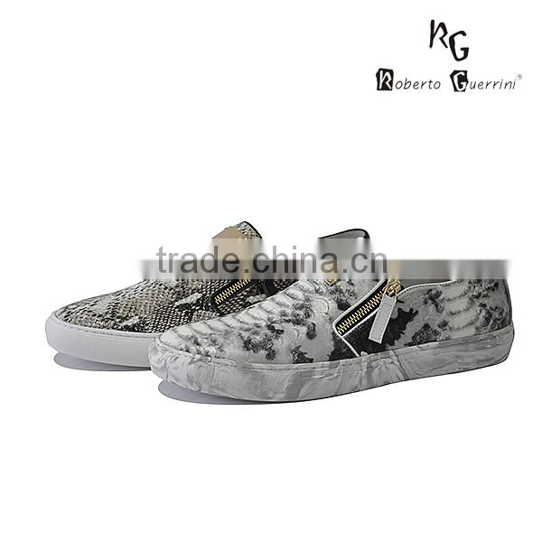 casual fashion slip on men sneakers