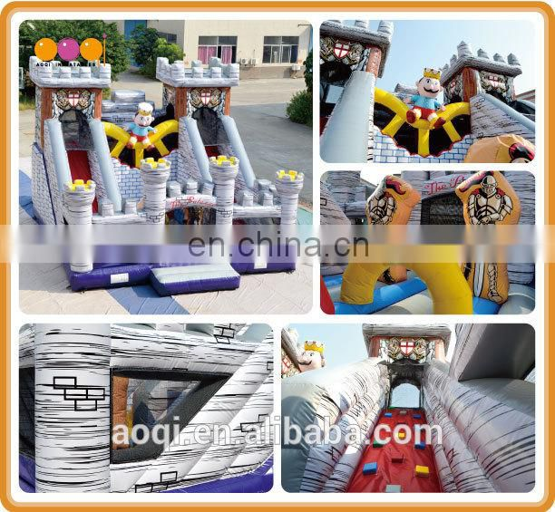 AOQI new design The Palazzo fun city outdoor inflatable playground for sale