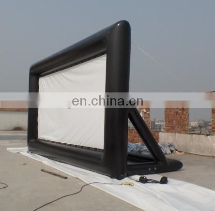 Portable inflatable projector screen/inflatable screen for projector/inflatable movie screen for sale