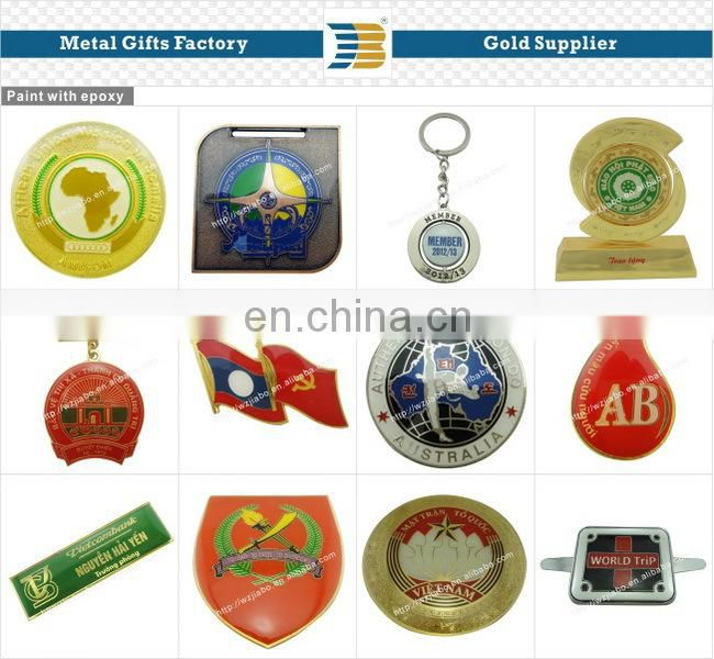custom design zinc alloy 24k gold plating metal wholesale trophy