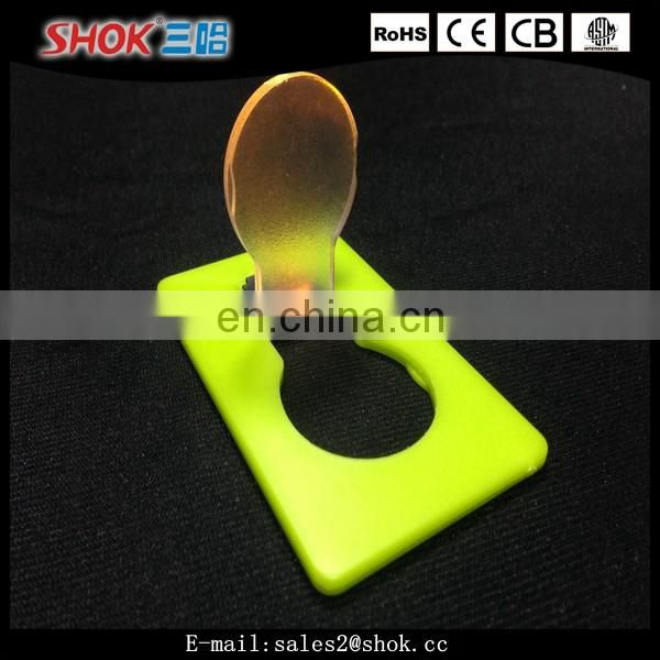 2016 hot sale mini business led card light china supplier