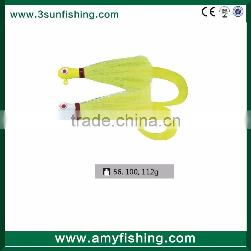 Fishing lures Flipping Jigs Bass Jig,Walleye Jig BASS JIG BUCKTAIL DECEIVER for wholesales