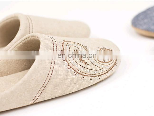 Home cotton slippers