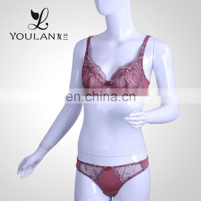 Factory Price Made in China Sexy Lace Underwear Bra Lingerie Sets