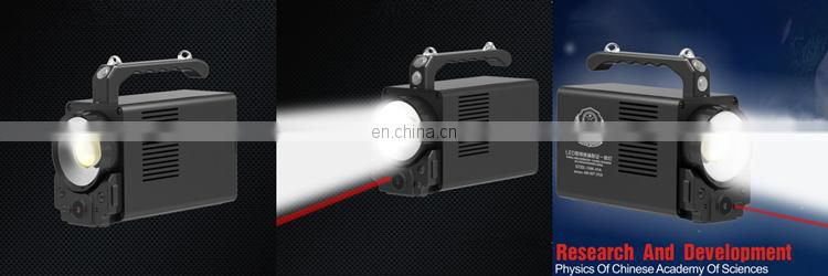 Brightest Handheld Spotlight Long Range Video Camera Waterproof Outdoor Searchlight