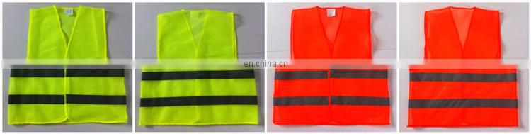 5 Point Breakaway Hi Vis ANSI Class 2 Security Safety Vest reflectorized vest