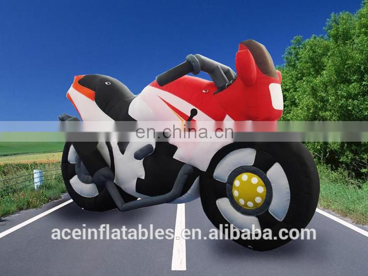 Hot Sale Large Inflatable Bicycle,Custom Inflatable Bike Model