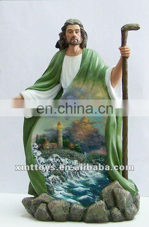 high quality polyresin Jesus statue