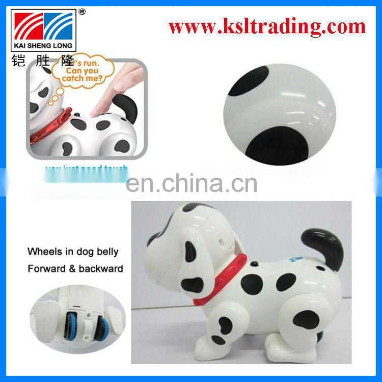 kids plastic electric walking dog toys