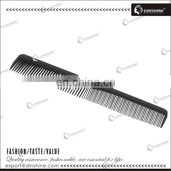 personalized plastic decorative hair comb