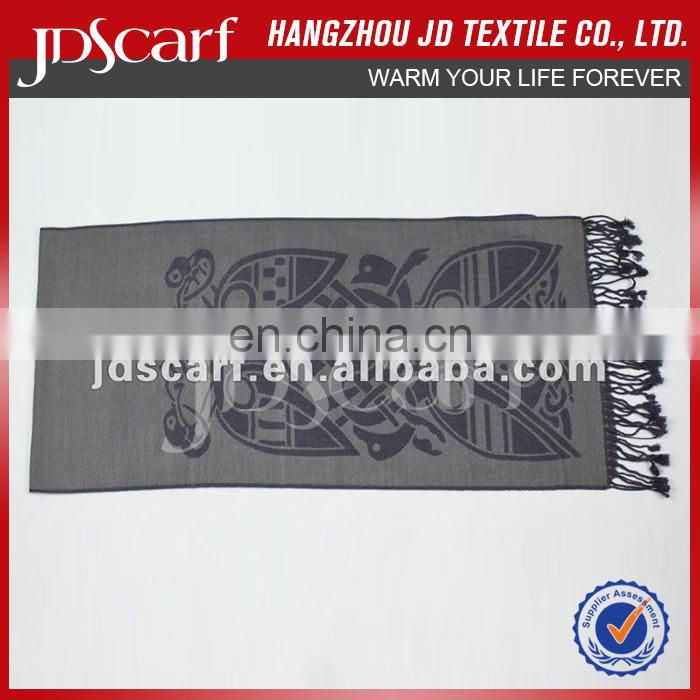 JDW-019 Fashion wool scarf for 2015 beach party dress