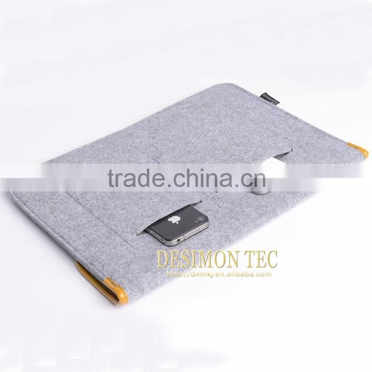 2015 bulk buy from china felt laptop bag