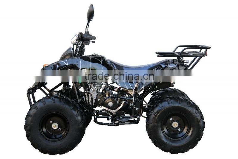 110cc 125cc Cheap ATV Quad For Sale, ATV For Kids With Manual Reverse Gear, Full Auto Clutch