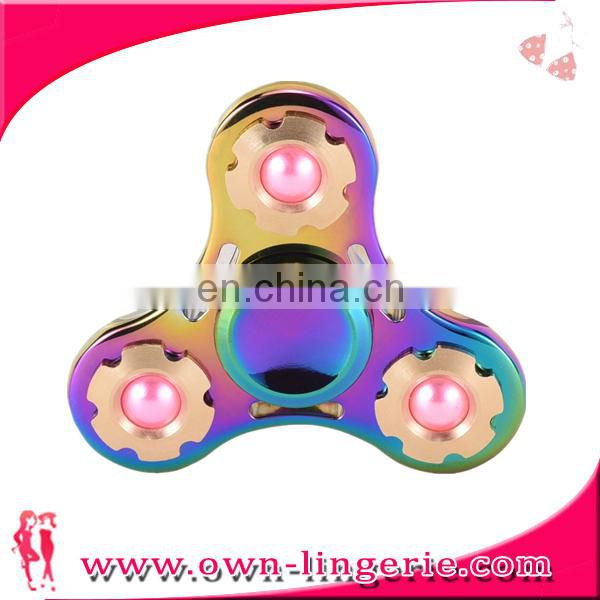 Newest High Speed Bearing Gyro Toys Finger Spinning Top Gyro Spinner Hand Fidget Fingertip