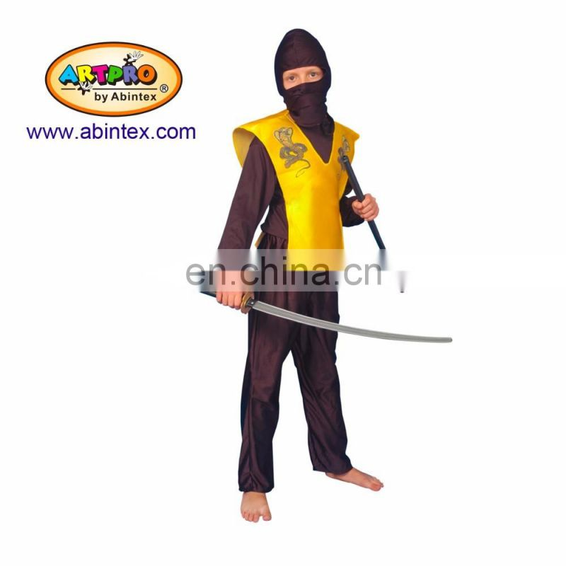 Cobra ninja yellow team Costume(02-1303) as party costume for boy with ARTPRO brand