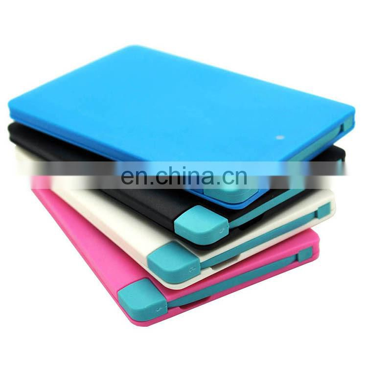 Best seller credit card power bank slim power bank pocket power bank