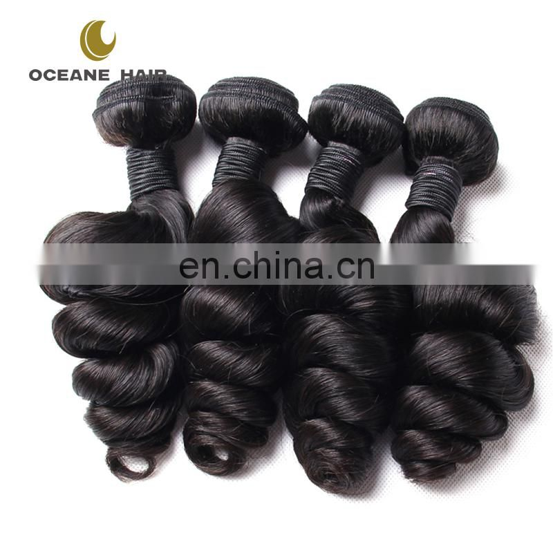 Top Grade8A in stock wholesale virgin brazilian hair weave bundles