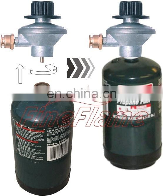 LB propane cylinder gas valve gas regulator