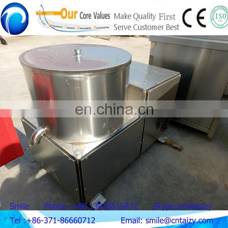 Potato Chips Deoiling Machine/De-Oiling Machine for Fried Snack Food/Stainless Steel Potato Chips Deoiler