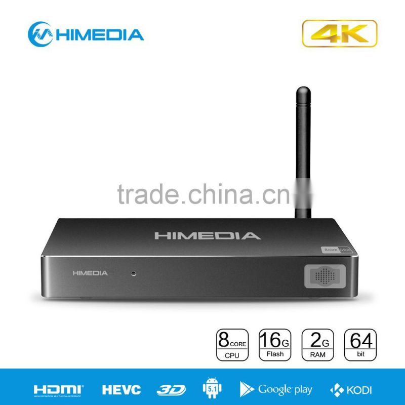 2016 Himedia H8 RK3368 Wholesale Smart Android Desi TV Box of 2016