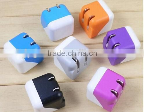 New color quick smart USB war charger plug in chargers for mobile for iphone for samsung for htc for andriod smart mobile phone