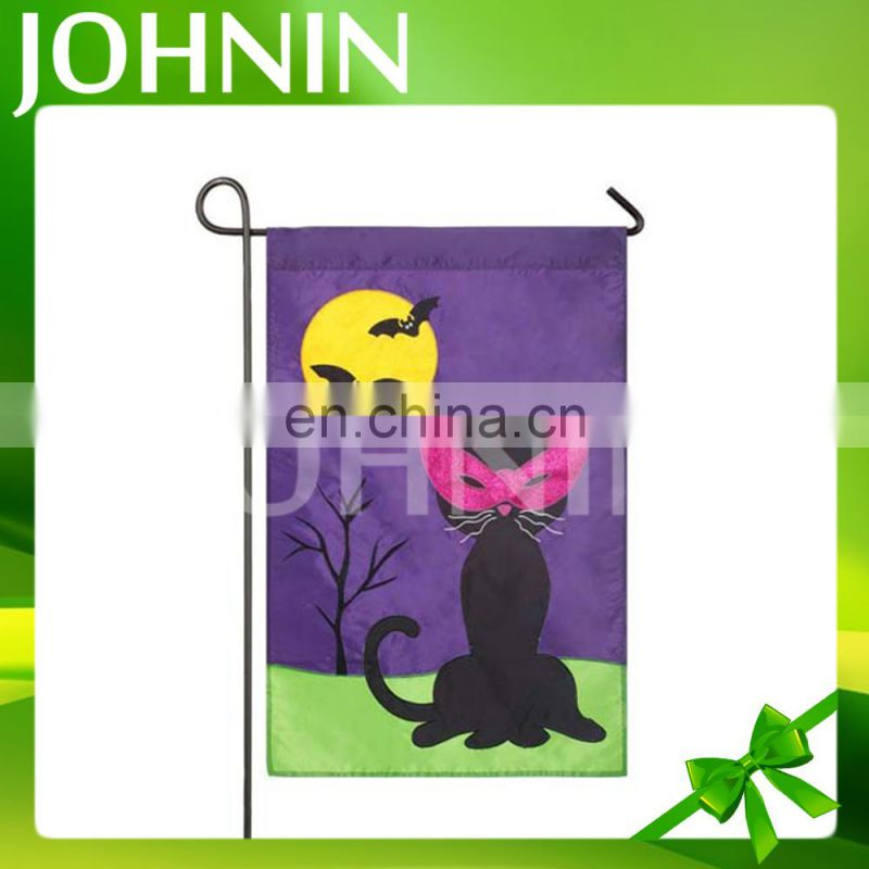 Wholesale high quality customized printing outdoor family garden flag