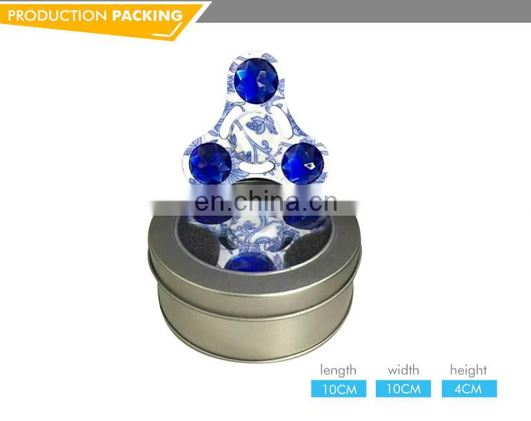 Finger creative ceramic alloy fingertip gyroscope decompression toys