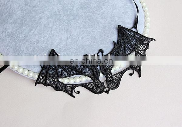 Hot Fashion Bat Pattern Sexy Lace Animal Mask For Party