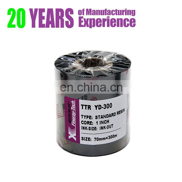 YD-300 multi color wax resin thermal transfer ribbon TTR