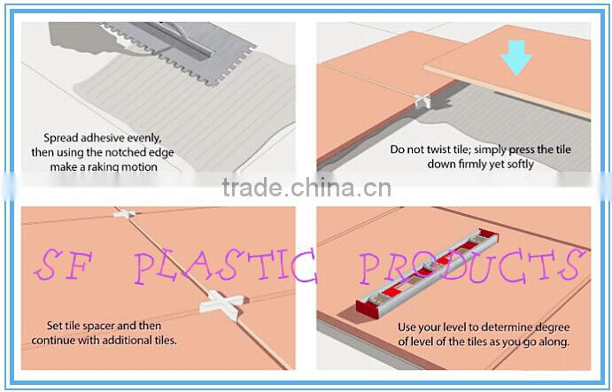 Best Quality Plastic Ceramic Tile Spacer and Tile Wedges for Wall and Floor Ceramic Tile