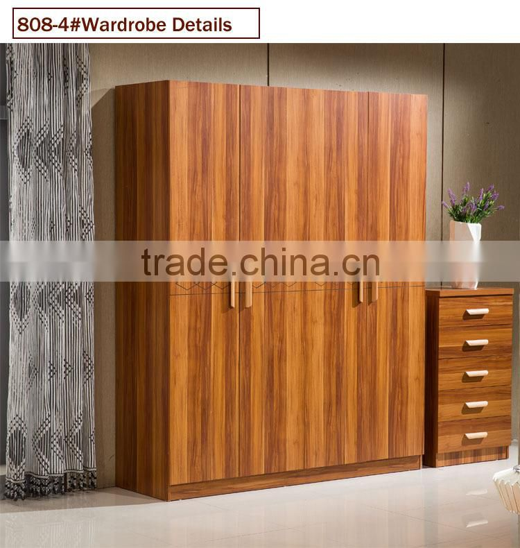 Wooden Almirah Designs In Bedroom Wall Of Wardrobe From China