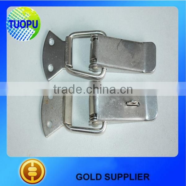 Industrial machinery locking draw latch,toggle adjustable spring