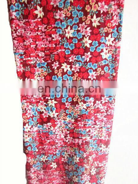 100%polyester printed fabric