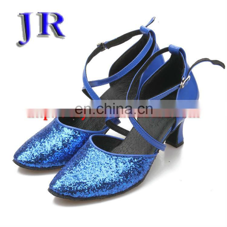 Shiny point fashion latin dance shoes low heel ballroom dance shoes 6colors latin shoes Jazz dance shoes X-8016#