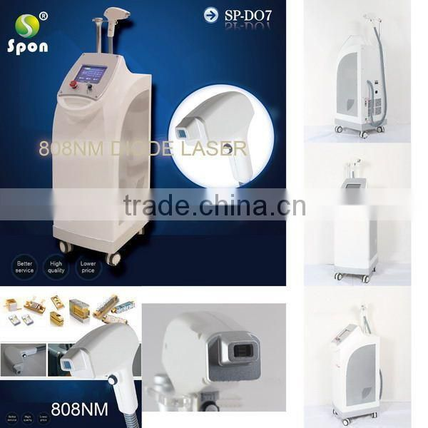 Professional medical 808 diode laser hair removal
