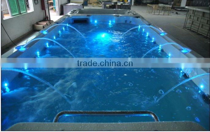 Pool with Antivirus System Outdoor Shower Outdoor Spa