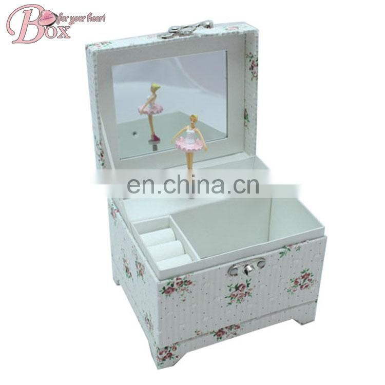 Custom Square Ballerina Music Box Mechanism