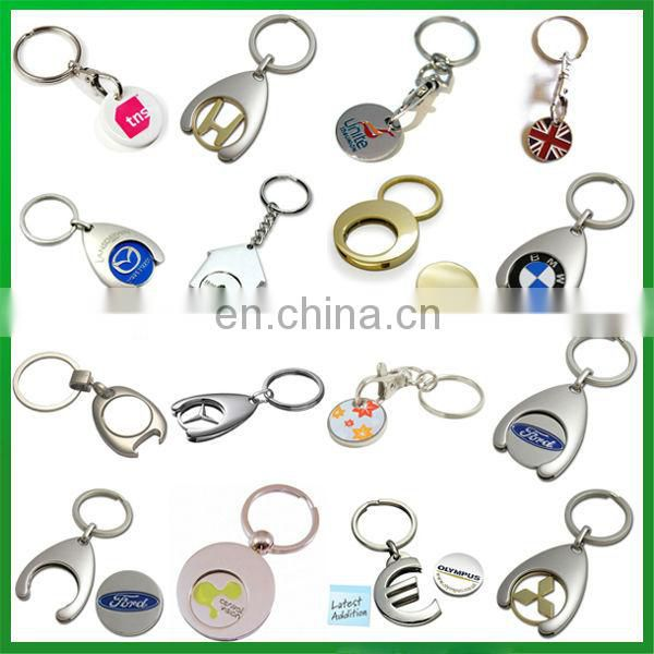 Custom Trolley Keyring with Coin