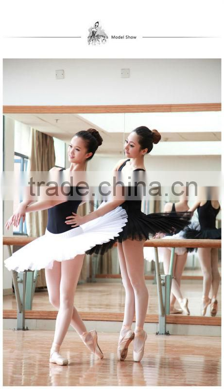 D005835 Dttrol wholesale tutus black swan costume swan lake ballet tutu skirt