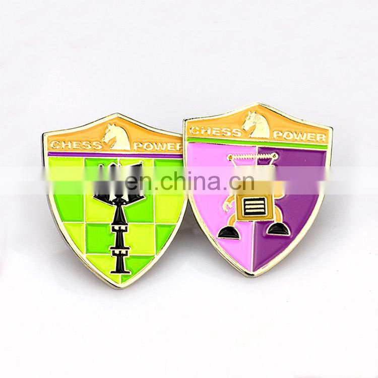 Lapel Pin Manufacturer Custom Bulk Metal Hard Enamel Lapel Pin Magnet