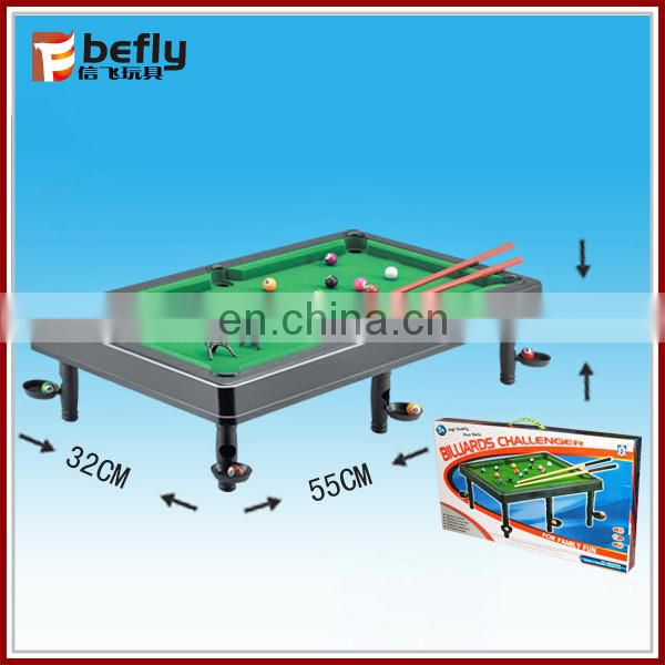 Funny snooker table game for kid
