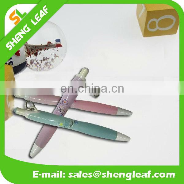 Good design with chain slogan ball pen