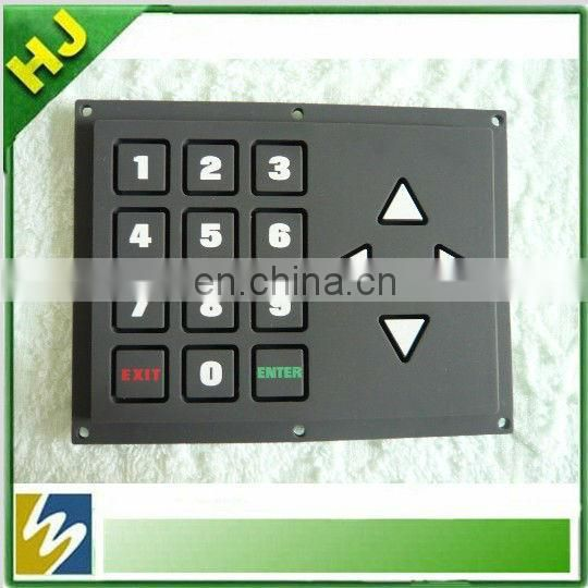 membrane keypad with 3m adhesive