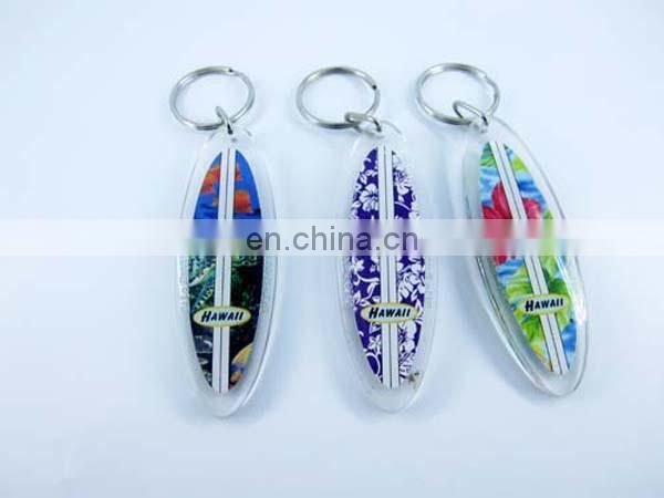 Custom logo car shaped cheaper Acrylic keychain