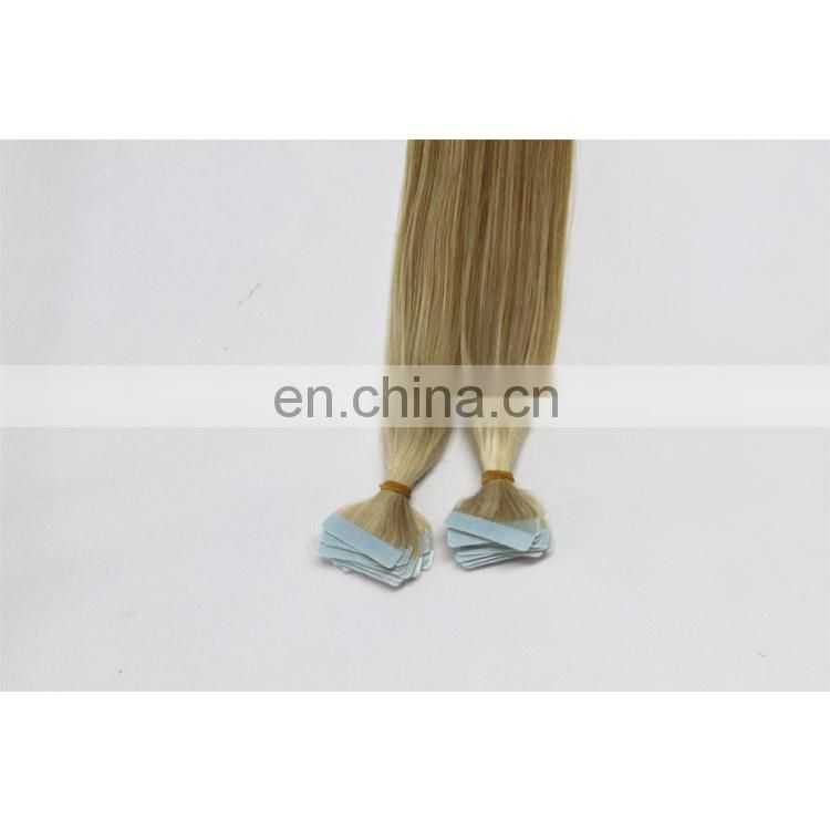 blonde color weft hair extensions glue in hair extensions hait tape in